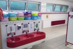 Sanitärbereich Waschbecken