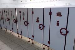 Sanitärbereich Toiletten