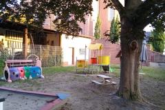 Der obere kleine Hof für die Kleinen
